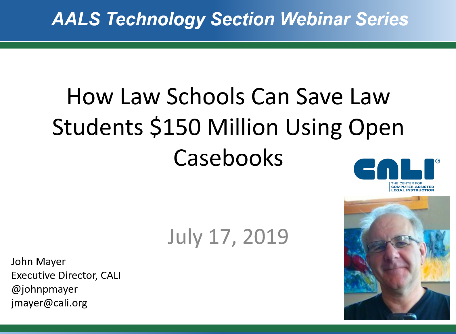 How law schools can save $150M