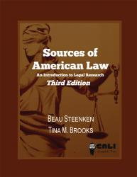 Sources of american law an introduction to legal research cali sources of american law an introduction to legal research this is the third edition fandeluxe Gallery